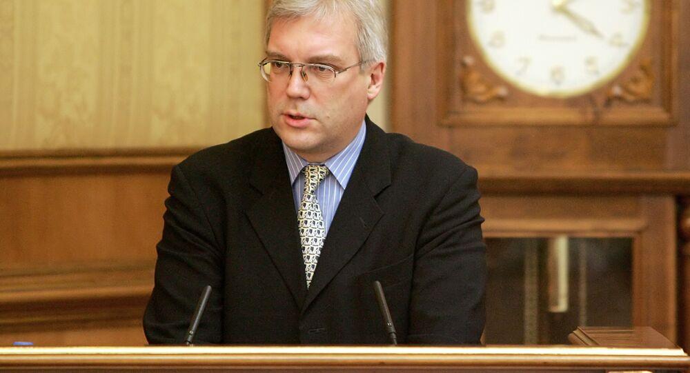 Russia's Deputy Foreign Minister Alexander Grushko