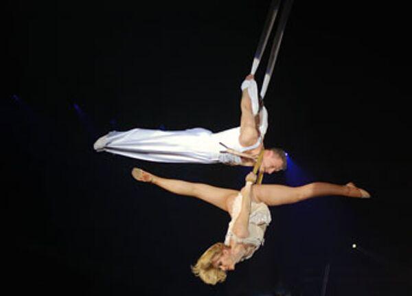 Moscow circus artist suffers brain injury during rehearsal - Sputnik International
