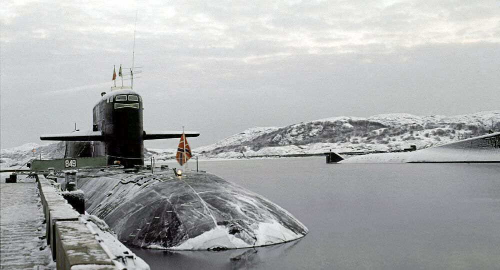 Submarine of Russia's Northern Fleet