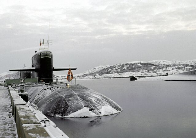 Submarine of Russia's Northern Fleet