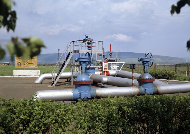 Druzhba oil pipeline's initial junction