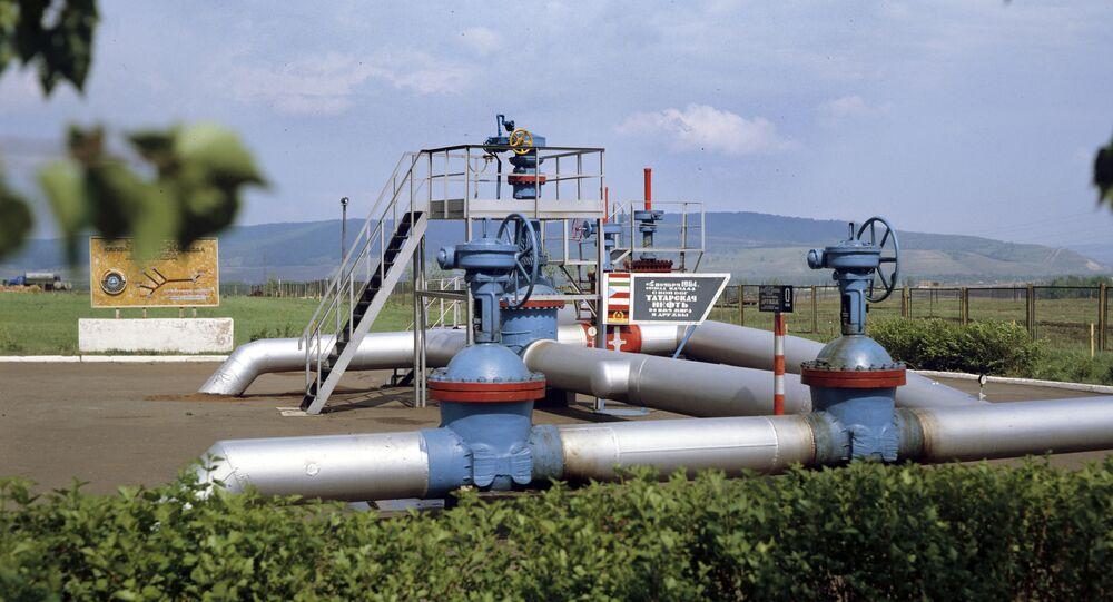 Druzhba oil pipeline's initial junction