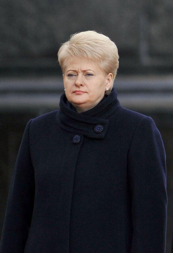 Lithuanian President Dalia Grybauskaite (Archive) - Sputnik International