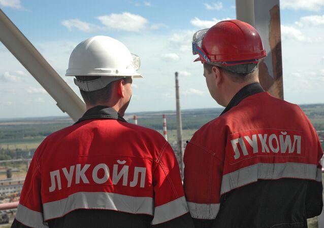 LUKoil employees