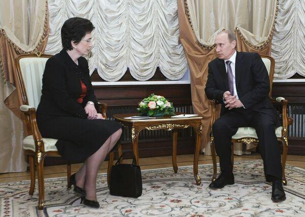 Putin views reopening of Russia-Georgia border as positive sign - Sputnik International