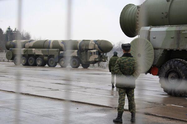 Topol-M missile - Sputnik International