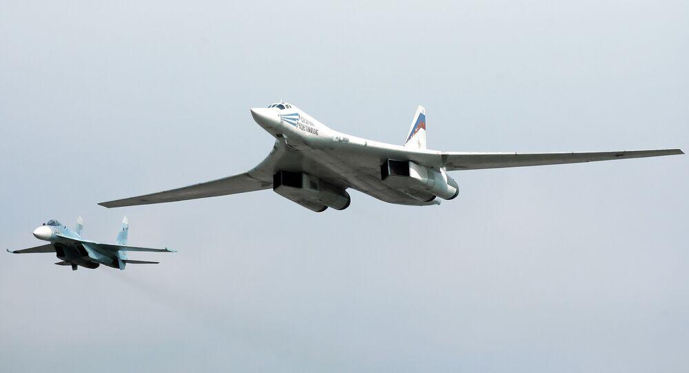 Tu-160 strategic bomber. File photo.