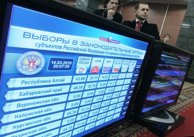 Information center of Central Election Commission of Russian Federation