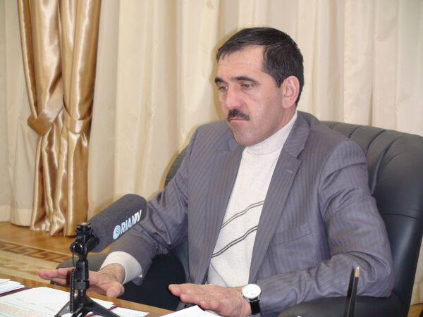 The president of Ingushetia  Yunus-Bek Yevkurov - Sputnik International