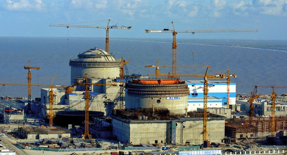 Construction of Tyanwan Nuclear Power Plant in China