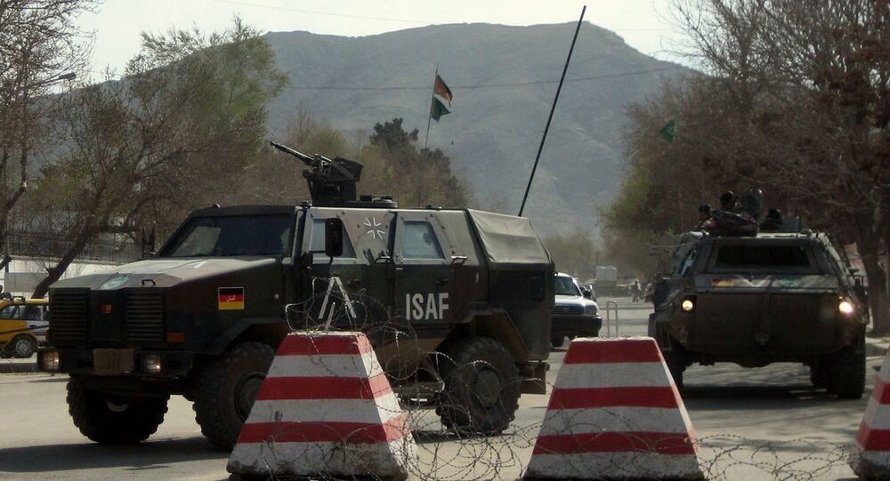 German troops operating in Afghanistan