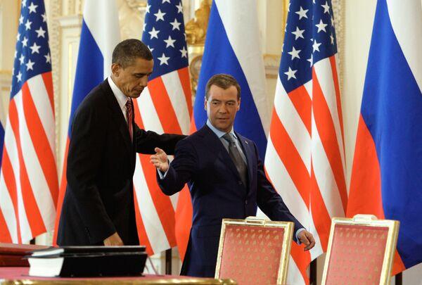 Joint press-conference by Dmitry Medvedev and Barack Obama - Sputnik International