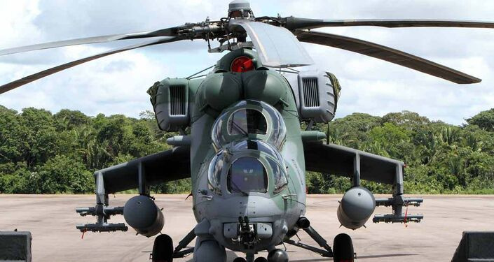 First shipment of Mi-35M Hip helicopters delivered to Brazil