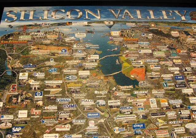 The map of Silicon Valley