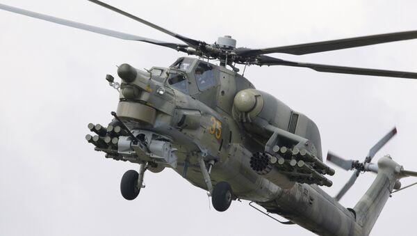 Mi-28 helicopter - Sputnik International