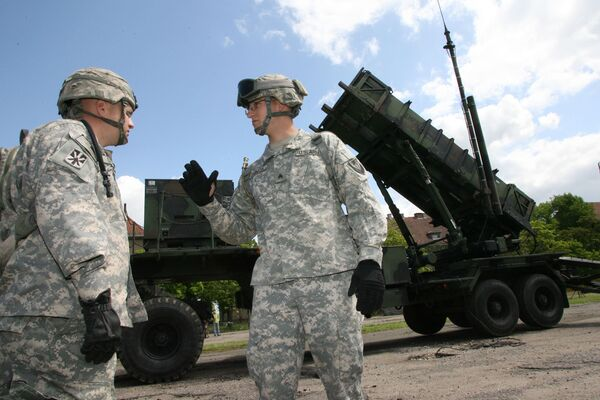 American Patriot missiles deployed in Poland - Sputnik International