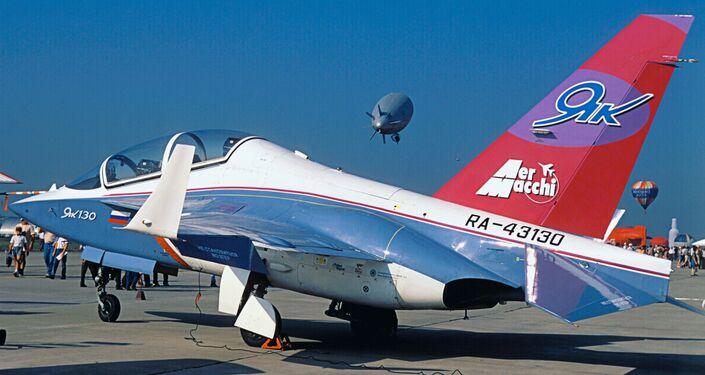 Yak-130 plane