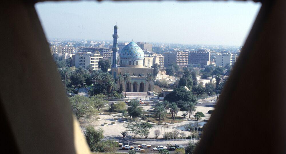 Iraqi capital Baghdad