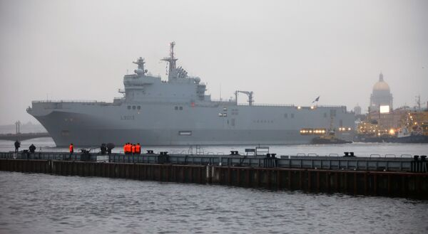 A Mistral-class ship - Sputnik International