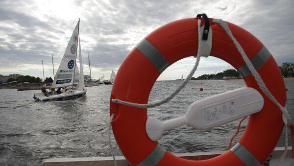 Ring buoy on a ship - Sputnik International