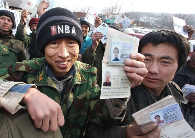 Central Asian migrant workers in Yekaterinburg