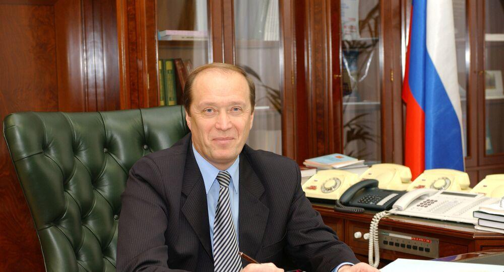 Russian Ambassador to Latvia Aleksander Veshnyakov