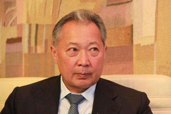 Deposed Kyrgyz president Kurmanbek Bakiyev - Sputnik International