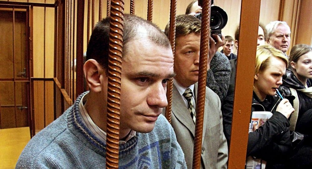 Researcher Igor Sutyagin in courtroom after verdict announcement
