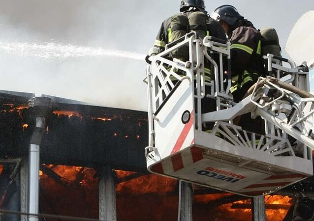 Moscow firefighters (File)