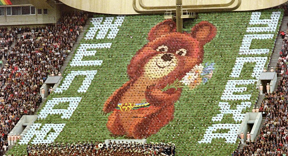 1980 Olympics in Moscow: Breathtaking opening ceremony