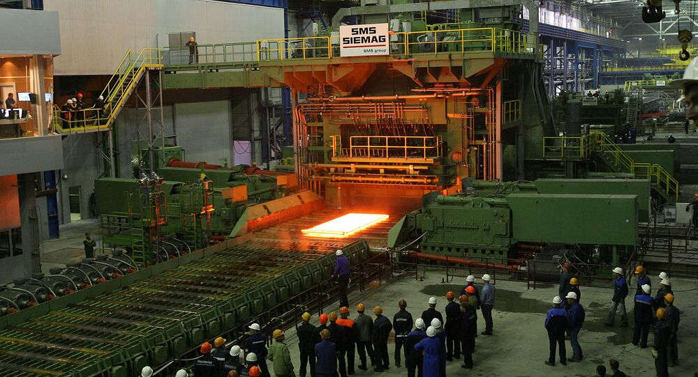 Russia's Magnitogorsk Iron and Steel Works