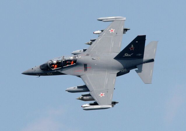 The Yak-130 light attack training aircraft