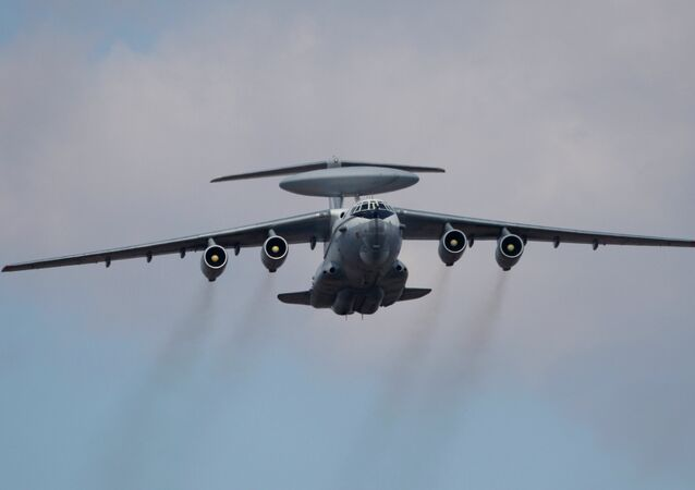 An A 50 airborne early warning and control aircraft