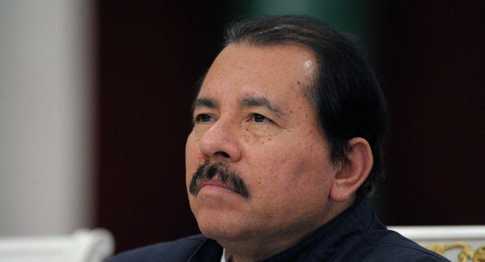Nicaraguan President Daniel Ortega Saavedra