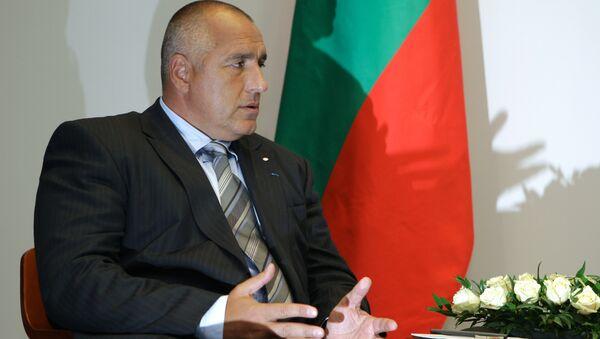 Bulgarian Prime Minister Boiko Borisov - Sputnik International