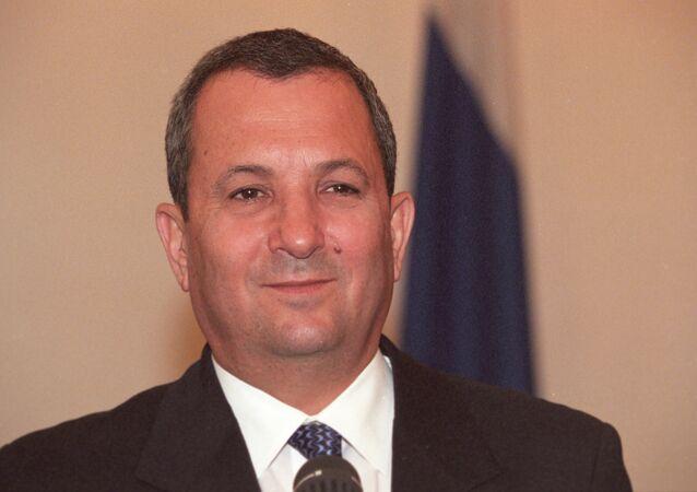 Former Israeli Defense Minister Ehud Barak