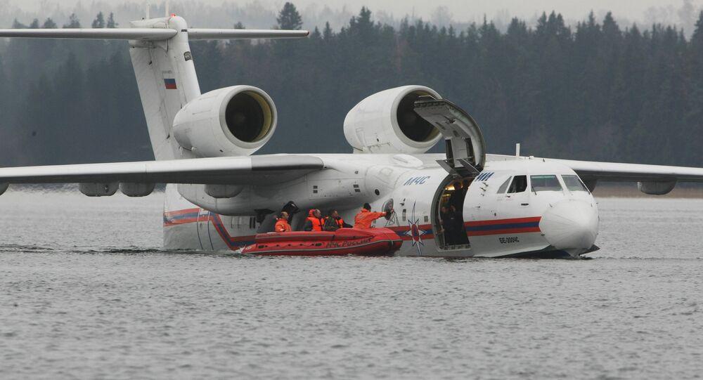 Be-200 amphibious aircraft