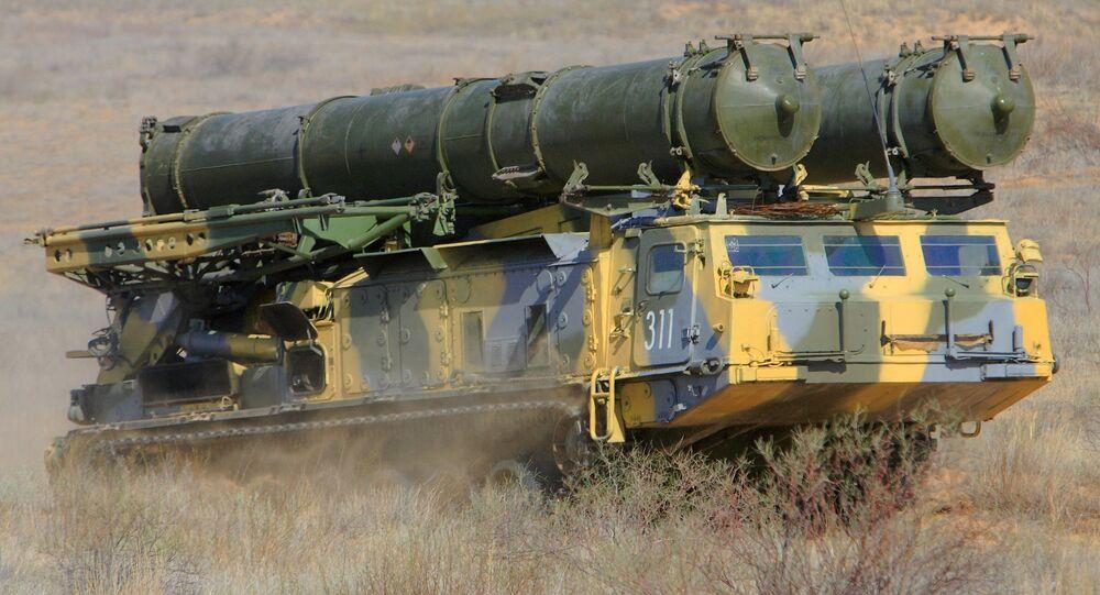 S-300V air defense system