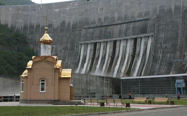 Sayano-Shushenskaya hydro-power plant - Sputnik International