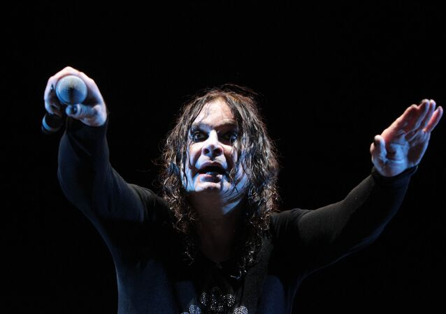 Grandfather of non-Russian rock, Ozzy Osbourne at his Moscow concert