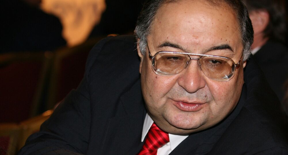 Alisher Usmanov, the head of Metalloinvest, one of Russia's leading mining and metals companies