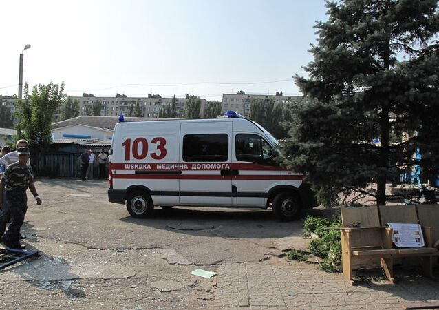 Blast in cafe injures 2 Ukrainian businessmen