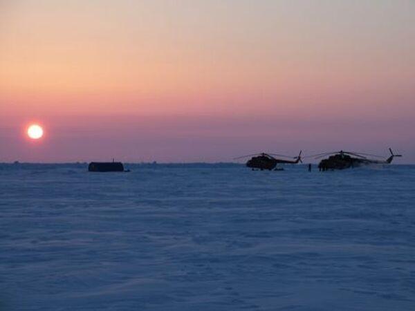 Barneo Base – an Arctic town on ice - Sputnik International