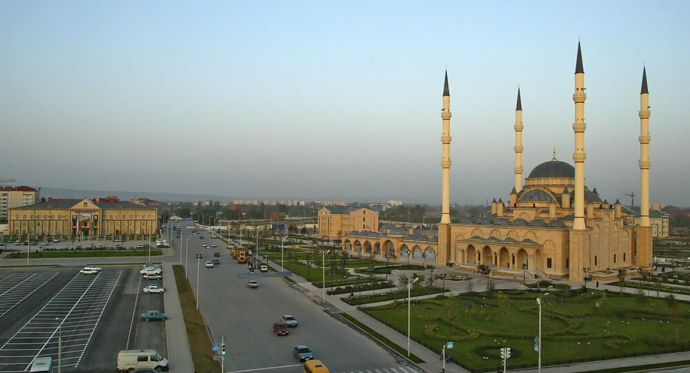 The largest mosque in Europe, Grozny