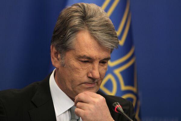 Former Ukrainian President Viktor Yushchenko  - Sputnik International