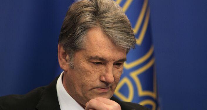 Former President Viktor Yushchenko (in office 2005-2010).