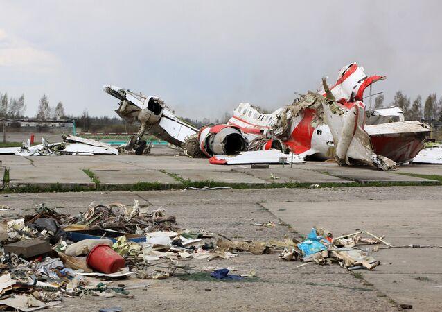 2010 Polish Air Force Tu-154 crash