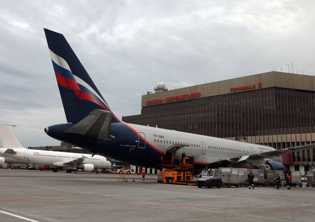 Sheremetyevo airport in Moscow