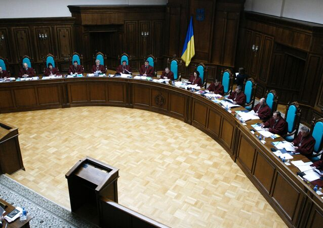 The Ukrainian Constitutional Court on Friday ruled that the presidential project on changes in the decentralization of power is constitutional.