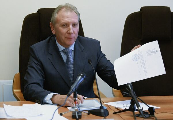 Alexander Ryabinin, former deputy of sacked Moscow mayor Yury Luzhkov - Sputnik International